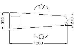 """M2726″ SHAPE UNIVERSAL BOARD"