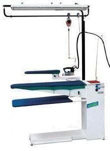 """M300H/11″ TAHL/11 Ironing table with suction 230 volt"