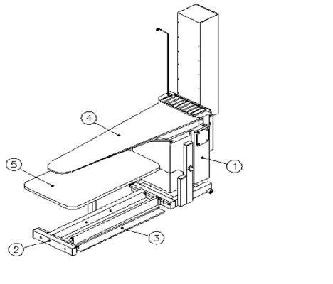 """""""M2700/7/1″ IRONING PLACE BASC MODEL"""