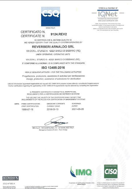 Qualità ISO 13485