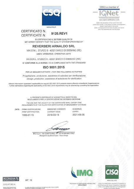 Qualità ISO 9001