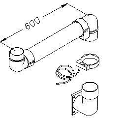 """M2691 + M2631 + M2692″ LONG SWIVING ARM FOR TRANSFORMER – AUTOMATI DEICE – SUPPORT FOR SWIVING ARM TRANSFORMER"